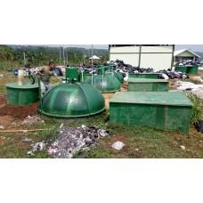 Instalasi Shelter Bio Elektrik BD 3-7000L