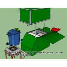 Biodigester BD 1150 L
