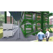 Komposter Pengisian Berketerusan Biophosko® RCCF 18-10000