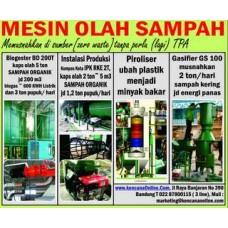 Tempat Pengolahan Sampah Terpadu (TPST) Mandiri Energi ME 10 T