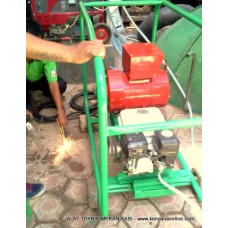 Mesin Las Welder Genset Bahan Bakar [ Biogas, gas Alam, CNG]