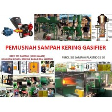 Gasifier Sampah TPS Terpadu GS 500