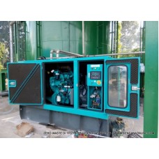 Generator Set Biogas, Natural Gas, CNG Mix Diesel 60 kVA (Silent Type)