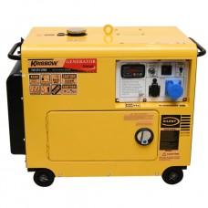 Generator Set Mix Fuel [Biogas dan Solar] 4 KW 1 Phase