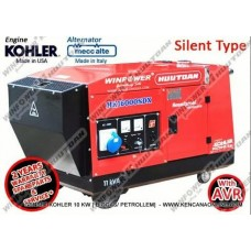Genset Kohler Winpower Huutoan 10 kVA (Silent Type)
