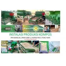 Instalasi Produksi Kompos IPK RKE 1000 L
