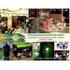 Instalasi Bio Elektrik BD 3000L