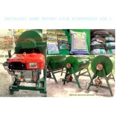 Instalasi Produksi Kompos HRE 500 L