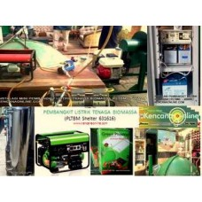 Pembangkit Listrik Tenaga Biogas PLTBM 6-31616