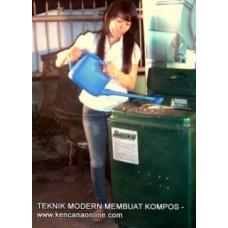 Komposter Elektrik Pengolah Sampah Dapur KE-100L