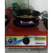 Kompor Bahenol - Bahan Bakar Etanol