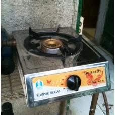 Kompor Biogas Satu Tungku