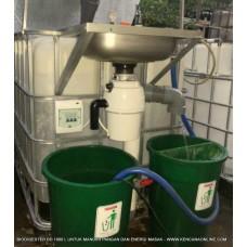 Komposter Pemusnah Sampah KPS 1000 L