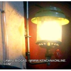 Lampu Petromax Bahan Bakar [Biogas, Gas Alam, CNG]