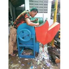 Mesin Pencacah Limbah Plastik MPLP 200 [ Yanmar 8.5 HP ]