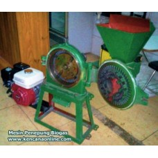 Mesin Penepung Disk Mill Bahan Bakar [Biogas, Gas Alam, CNG]