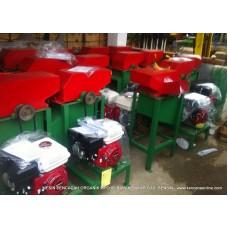 Mesin Pencacah Organik MPO 80 Bahan Bakar [Bensin, Gas Alam, Biogas, CNG]