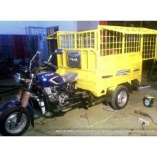 Motor Roda Tiga Gerobak Sampah