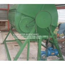 Mesin Pencuci Limbah Plastik MPL 3000 L ( Elektromotor)