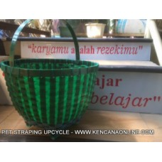 Keranjang Buah PET Strapping Upcycle