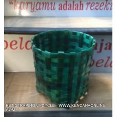 Pot Tanaman PET Strapping Upcycle