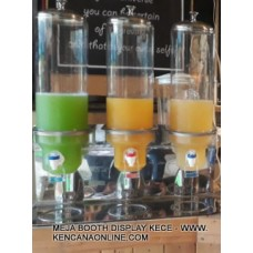 Dispenser Jus KECE 3 Tabung