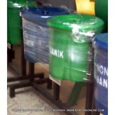 Tempat Sampah Terpilah (TST) BerSeka® Trash Bin [D]