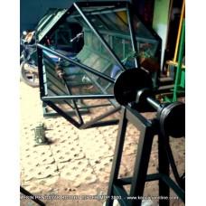 Mesin Pengayak Kompos Bahan Bakar [Bensin, Biogas, Gas Alam, CNG]