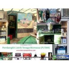 Pembangkit Listrik Tenaga Biogas Hybrid Surya Solar Cells (BSC)