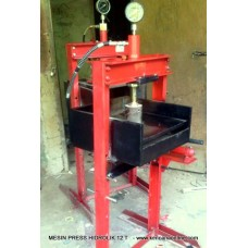 Pemanpatan Sampah Press Hidrolik 12 T -  12 T - Hydraulic Press